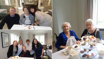 Care Home celebrate Mother's Day with loved ones