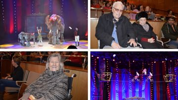 Roll up, roll up! Hayes care home Resident's trip to the Circus