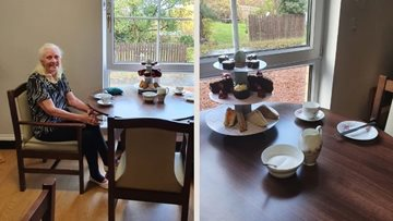 High tea served up at Hamilton care home memory care unit