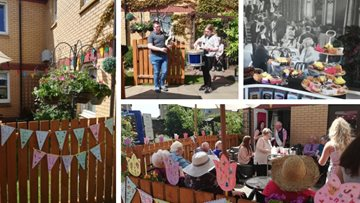 Wallyford care home celebrates Care Home Open Day