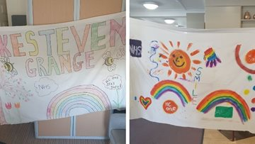 Hull care home create some feel good banners
