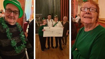Dancing with dementia takes an Irish spin as Worsley Lodge celebrates St Patrick's Day