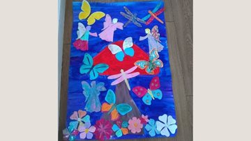 Creativity is in full flow at Limpley Stoke care home