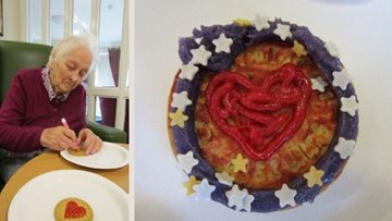 Ayr care home Residents compete in biscuit decorating competition