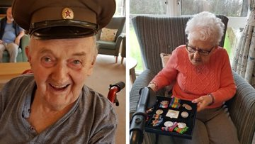 War time reminiscence at Glenrothes care home