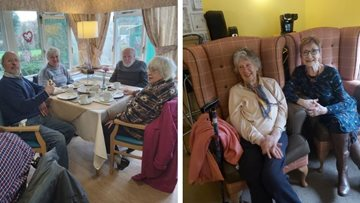 Royally good afternoon tea at Moreton-in-Marsh care home