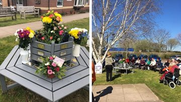 Memorial service held at Staffordshire care home