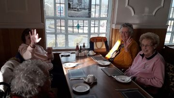 Ladies who lunch at Wakefield care home