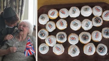 Armed Forces Day celebrations at Guisborough care home