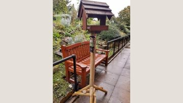 Tameside care home receive kind donation of bird feeders