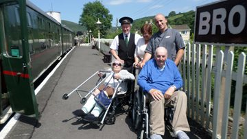 Full Steam ahead for Residents at Llys Newydd