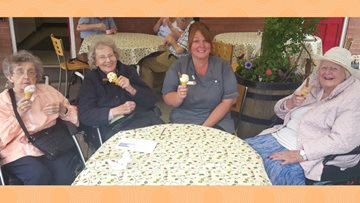 Sweet treats for Acorn Hollow Residents