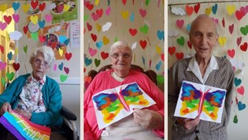 Pride month celebrations spread joy and colour in Angus care home