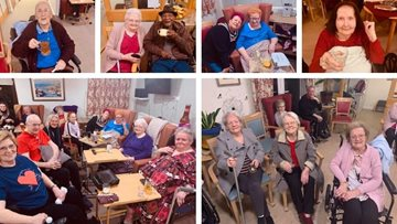 Birmingham care home hosts a Valentine's Day Ball