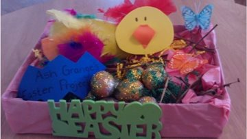 Hc one ash grange residents at walsall care home complete easter project negle Image collections
