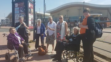 Brighton Beach for Care Home Residents