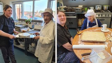 Consett Residents get their chef hats on