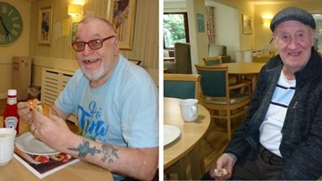 Celebrating National Hot Dog Day in Nottinghamshire care home