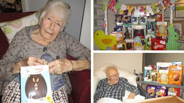 Bankwood Residents enjoy Easter treats