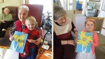 Penrith home enjoys World Book Day activities