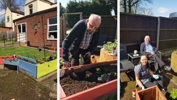 Gardening club off to a budding start