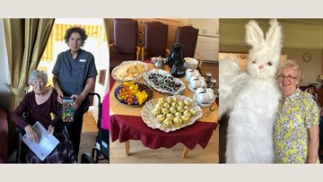 Lancashire care home enjoy Easter celebrations