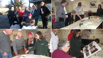 Residents help to plan a new walking route for local community