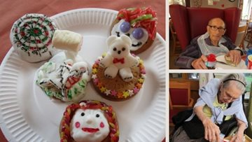 Cake decorating and biscuit competition from Admirals Reach