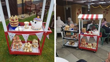 Wishaw care home hosts open day