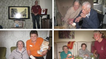 Residents at The Willows learn about Hinckley past and present