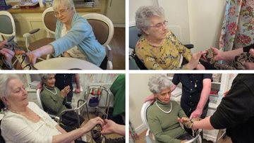 Animalistic adventure at Cardiff care home