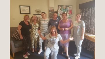 Greatwood House wears PJ's to raise money for Residents