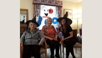 Halloween at Hamilton care home