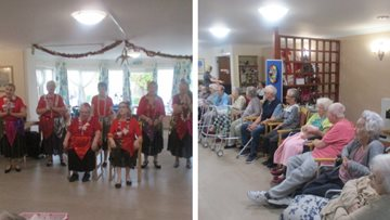 The Newberry's Christmas Show at Romford care home