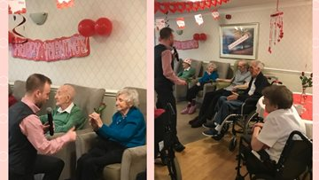 Valentines fun for Stamford Court