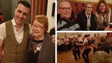 Manchester Residents visit Dancing with Dementia tea dance