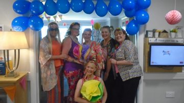Jarrow care home travels back to the 'Swinging Sixties'