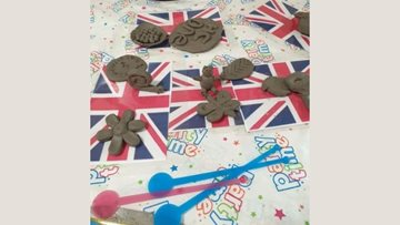 Bath care home Residents get creative with clay