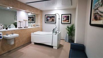 Luxury spa at Bingham care home nears completion