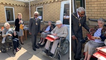 Northfleet care home gets creative for Care Home Open Day