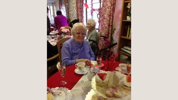 Love is in the air at Oldbury care home