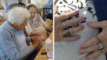 Sussex home Residents pamper pals