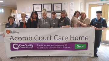 Northumberland Home Enjoys Success in CQC Report
