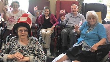 Barton Brook get Patriotic for St Georges Day