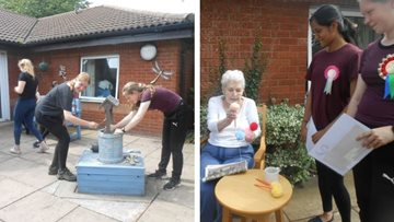 Howley care home Residents receive support from National Citizens Service