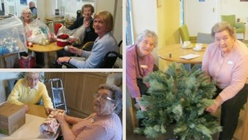 Festive preparations underway at Bishop Auckland care home