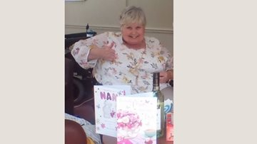 Resident celebrates 71st birthday at Widnes care home