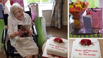 100th birthday for Northwich Resident