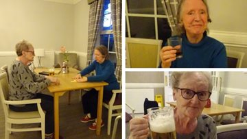 Residents at Spennymoor care home enjoy games night