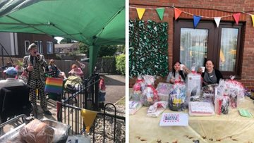 Summer fete celebrations at The Hornchurch